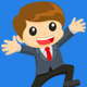 Businessman Happy Jumping - GraphicRiver Item for Sale