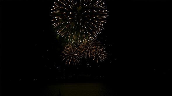 Fireworks in Lake