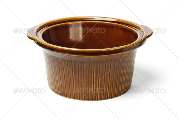 Ceramic cooking pot - Stock Photo - Images