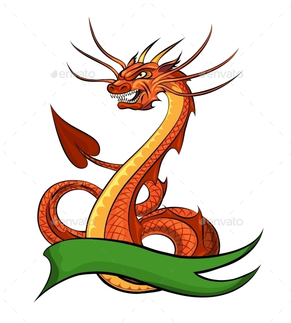 Cartoon Dragon - Monsters Characters