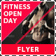Fitness and Gym Open Day Promotion Flyer - GraphicRiver Item for Sale