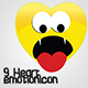 Heart emotion icon - GraphicRiver Item for Sale