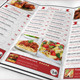 Retro Restaurant Food Menu Trifold  - GraphicRiver Item for Sale