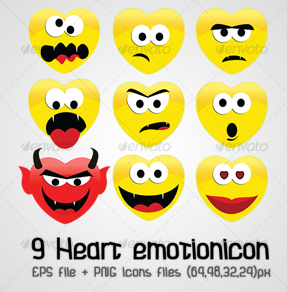 Heart emotion icon - Miscellaneous Characters