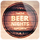 Beer Nights - Flyer - GraphicRiver Item for Sale