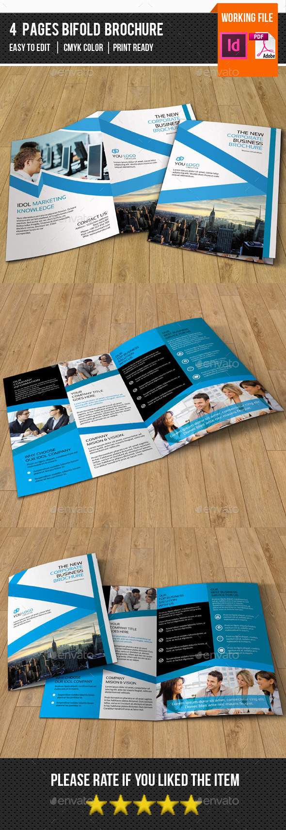 Corporate Brochure Template-V292 - Corporate Brochures