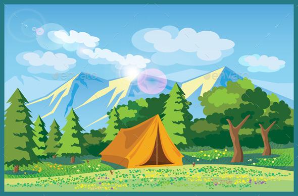 Picturesque Meadows - Travel Conceptual