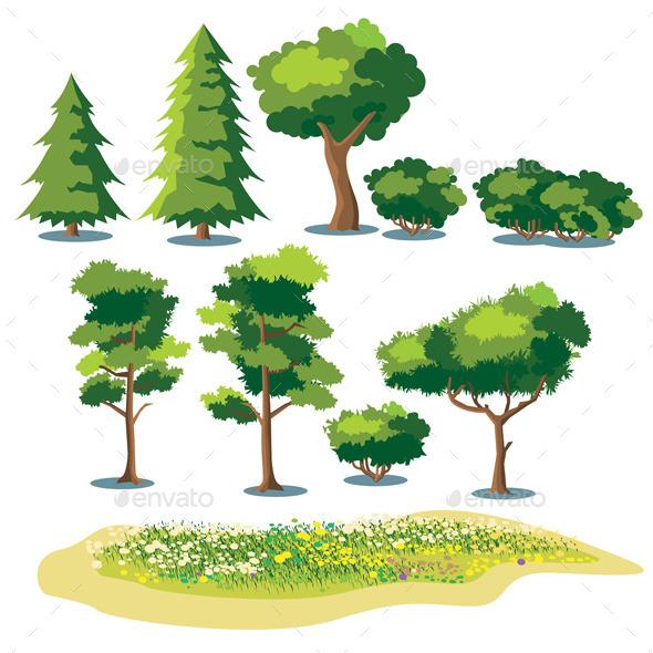 Plants Set - Flowers & Plants Nature