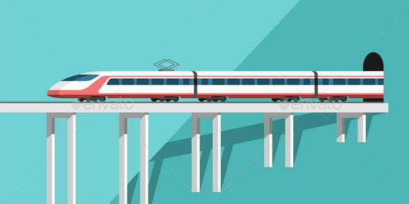 Travel by Train. - Travel Conceptual