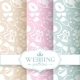 Pale Romantic Seamless Patterns - GraphicRiver Item for Sale