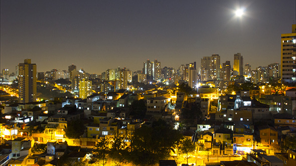 Moon Night in Vila Madalena