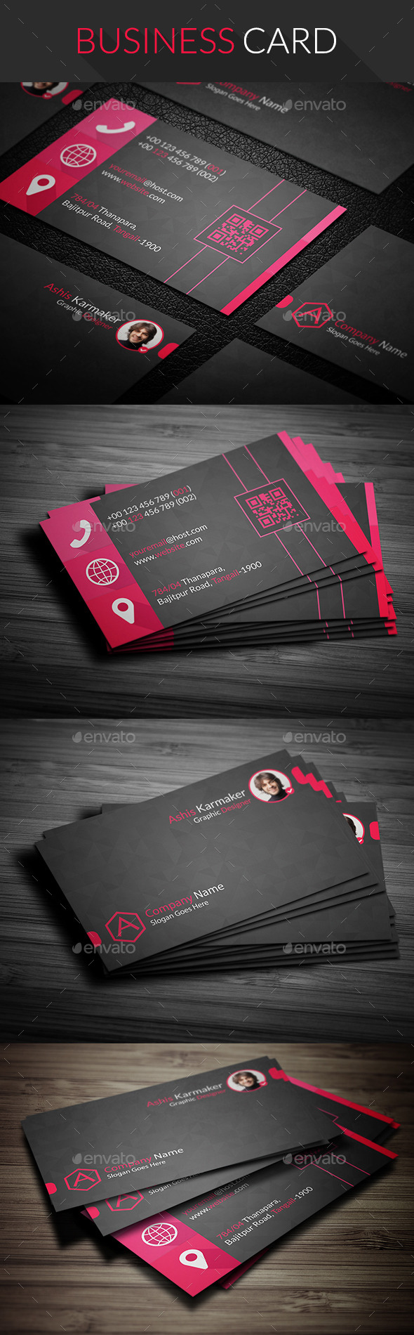 Hope Business Card - Business Cards Print Templates