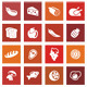 20 Food Icons - GraphicRiver Item for Sale