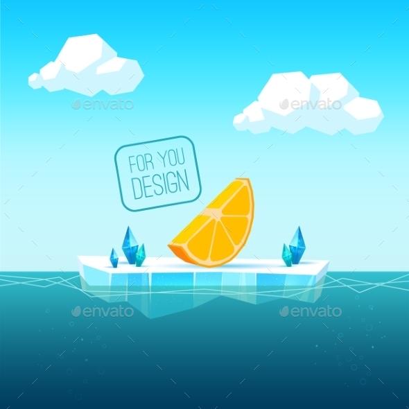 Ice Floe - Travel Conceptual