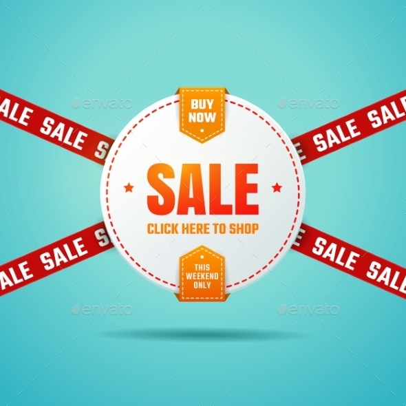Sale Label - Retail Commercial / Shopping