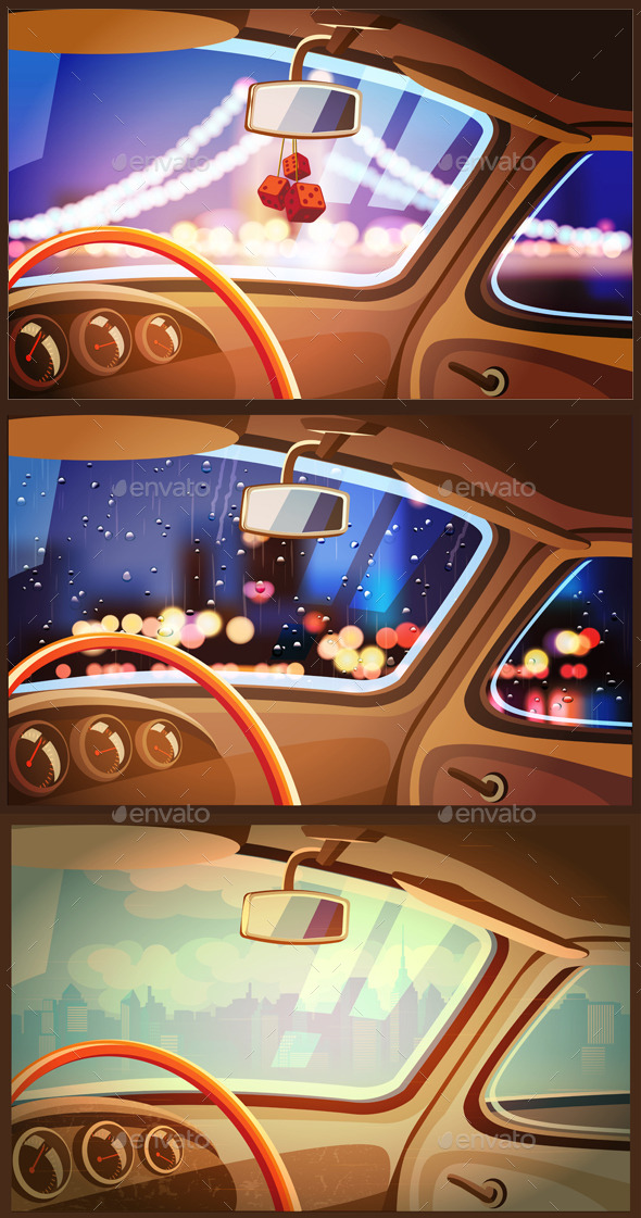 Vehicle Interior Set