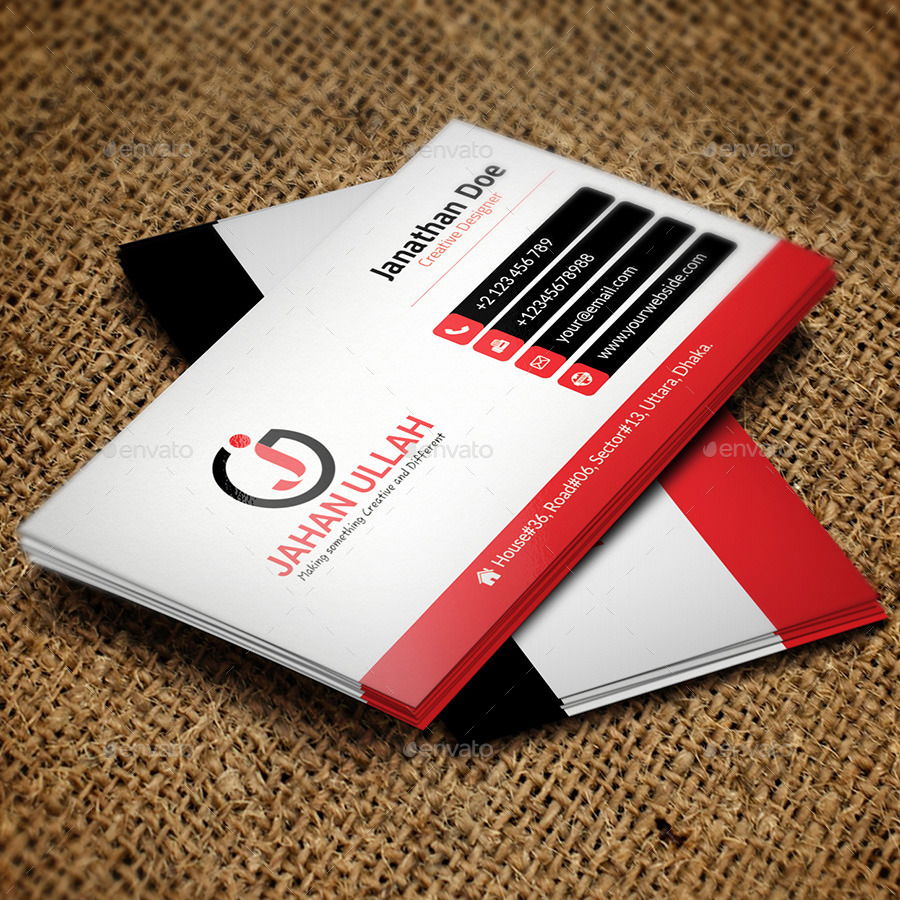 Corporate Business Card V-06