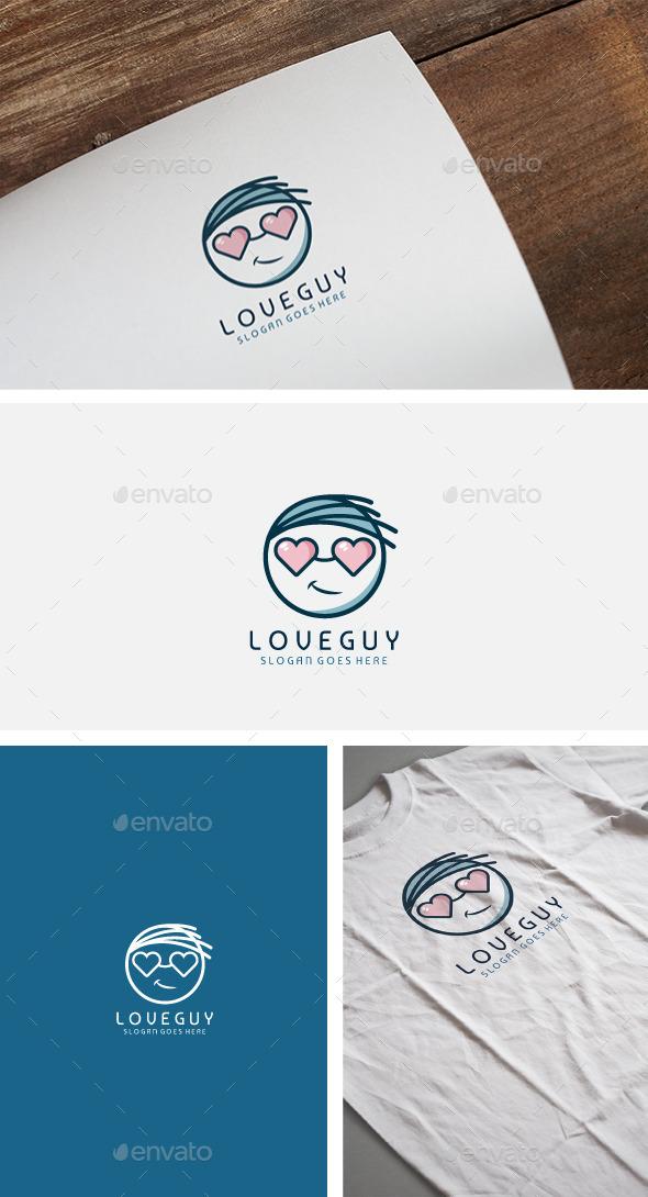 Love Guy Logo - Humans Logo Templates
