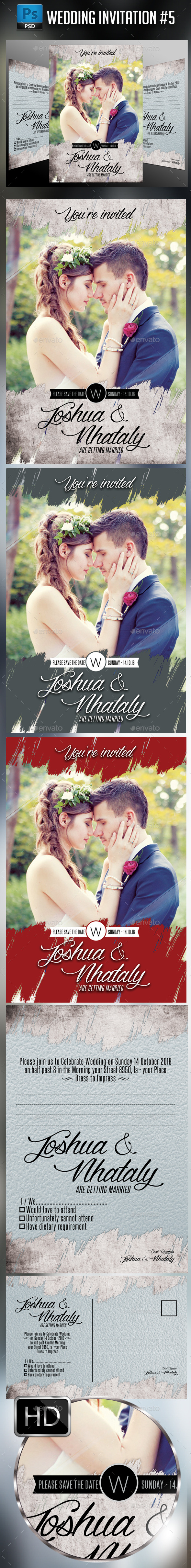 Wedding Invitation #5