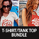 Woman T-Shirt and Tank Top Bundle - GraphicRiver Item for Sale