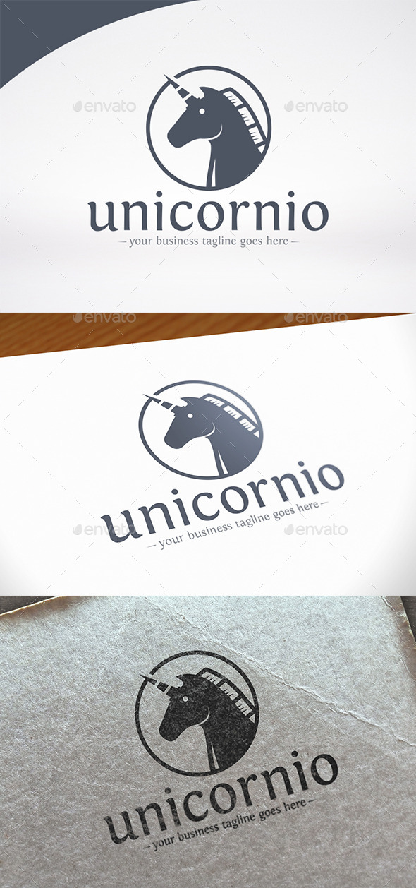 Unicorn Logo Template