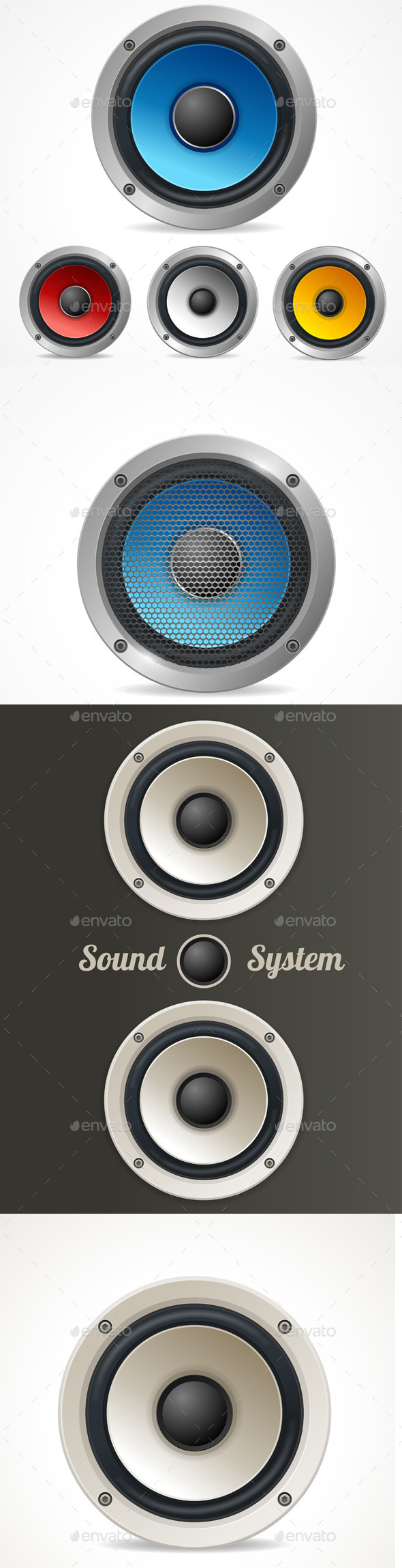 Audio Speaker Set - Media Technology