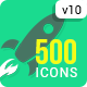 Download 500 Animated Icons from VideHive