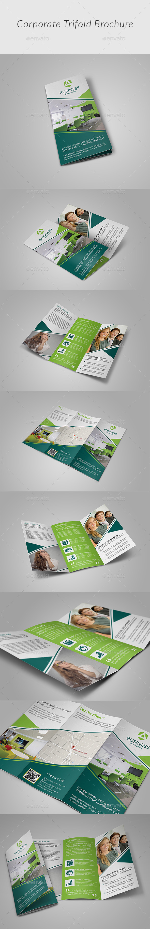 Tri-fold Brochure v3 - Corporate Brochures