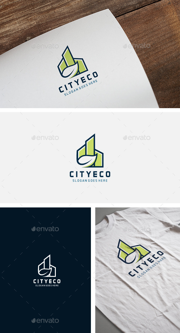 City Eco Logo - Nature Logo Templates