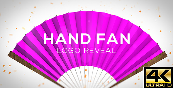 Hand Fan Logo Reveal