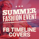 Facebook Timeline Covers - Summer Fashion Event - GraphicRiver Item for Sale
