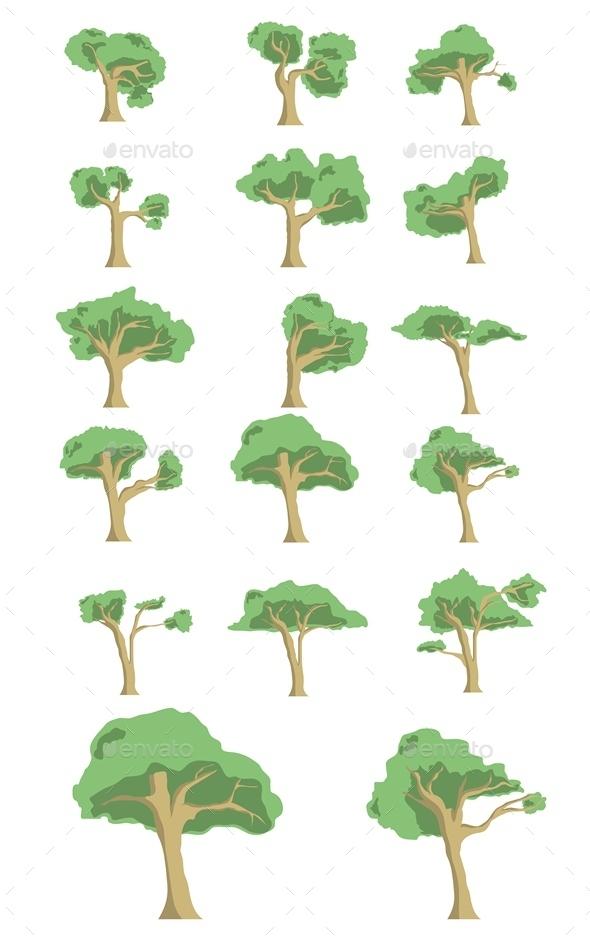 15 Tree  - Flowers & Plants Nature