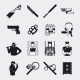 Criminal and Prison Icons - GraphicRiver Item for Sale