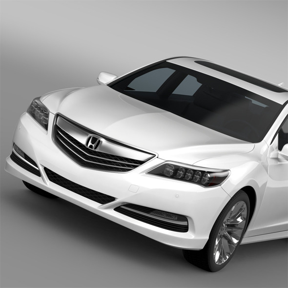 Honda Legend 2015 - 3DOcean Item for Sale