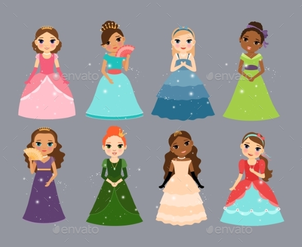 Princesses - People Characters