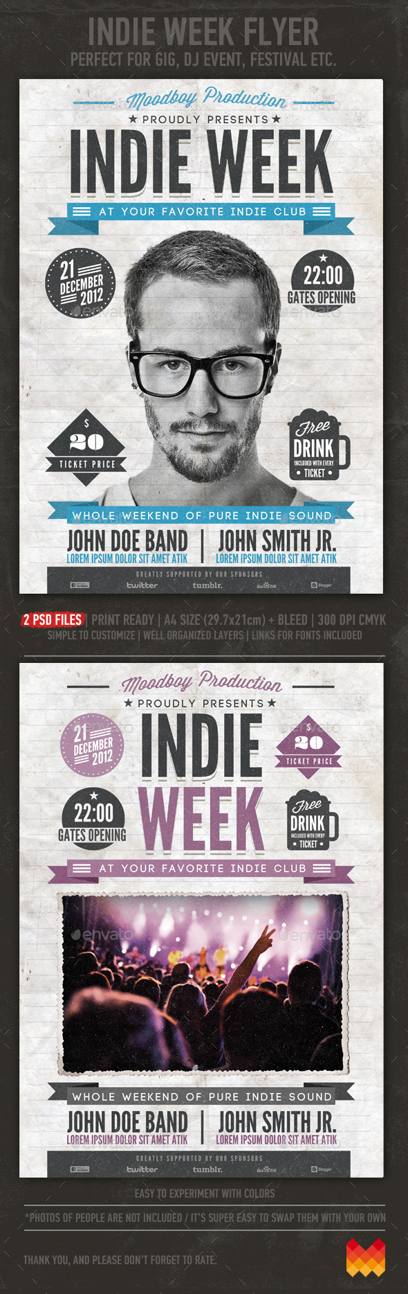 Indie Week Flyer/Poster - Events Flyers