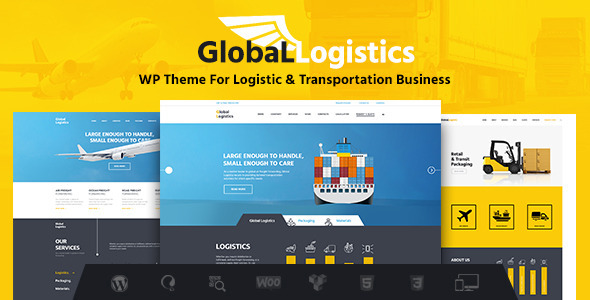 Global Logistics | Transportation & Warehousing - Business Corporate