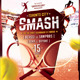 Tennis Tournament / School Flyer Template - GraphicRiver Item for Sale