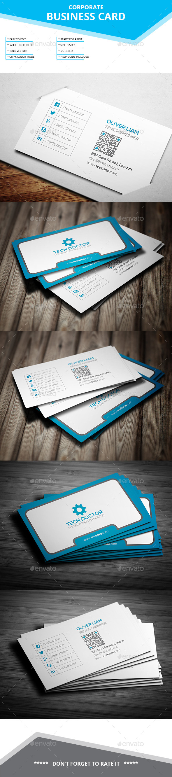 Corporate Business Card Vol-26
