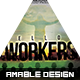 Fellow Workers Church Flyer - GraphicRiver Item for Sale
