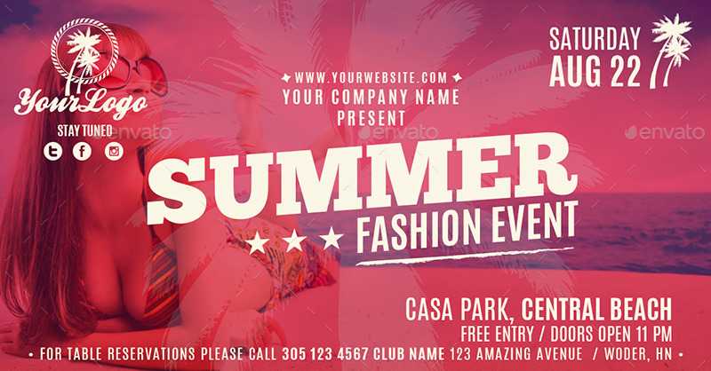 Facebook Banners - Summer Fashion Event by ConectoStudio ...