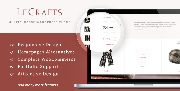 LeCrafts – WooCommerce Marketplace Themes
