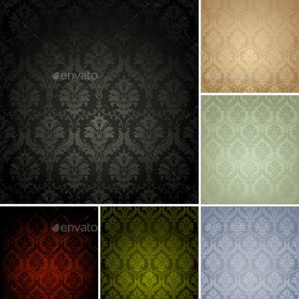 Seamless Wallpaper Patterns - Backgrounds Decorative
