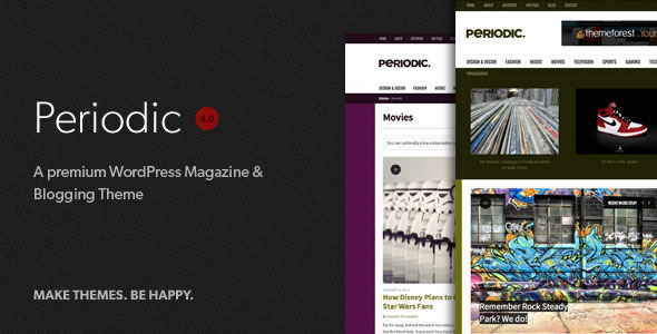 Free Download Periodic - A Premium WordPress Magazine Theme Nulled Latest Version