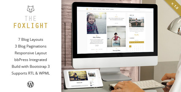 Foxlight – WordPress Personal Blog Theme