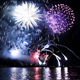 Fireworks On Water - VideoHive Item for Sale