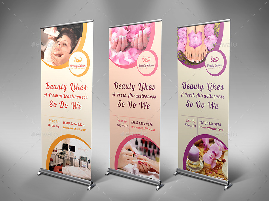 Spa & Beauty Salon Advertising Bundle | Volume 3 by dotnpix ...