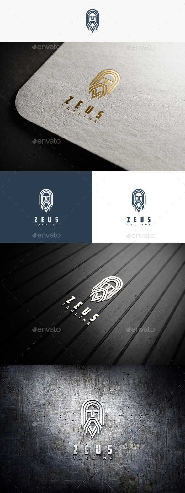Zeus Logo - Humans Logo Templates