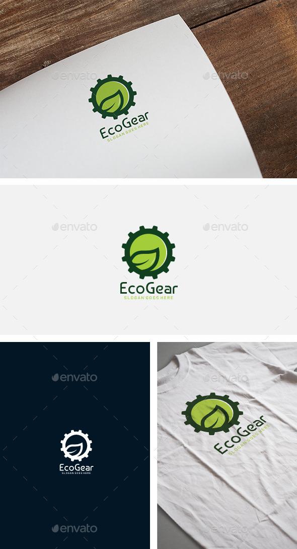 Eco Gear Industrial Logo