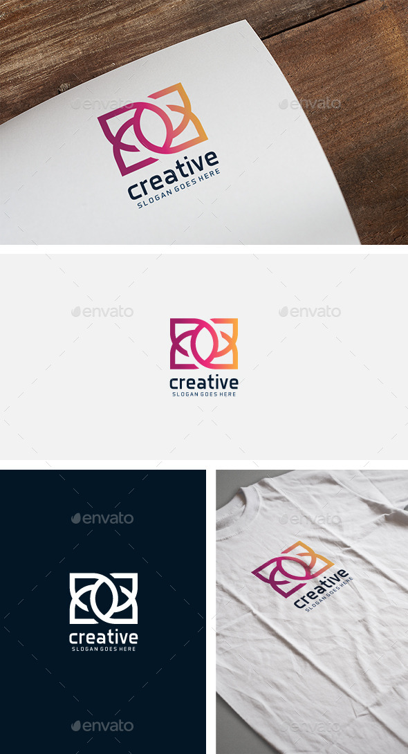 Creative Colorful Logo - Crests Logo Templates